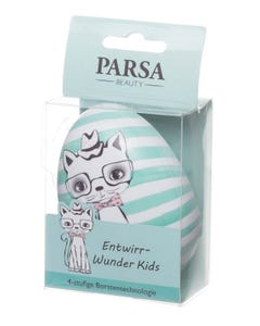 Parsa Kids Detangling Brush - Light Green