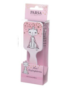 Parsa Hairbrush Paddle For Kids - Pink