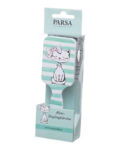 Parsa Hairbrush Paddle For Kids - Light Grean