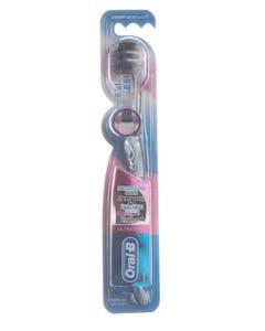 اورال بى فرشاة أسنان الترا رفيعة نظافة دقيقة ناعمة جدا سوداء