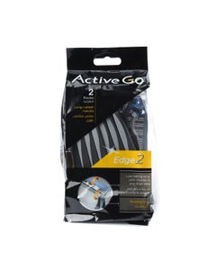 Active Go Rubber Grip 2 Blades 14 pcs