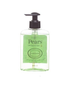 Pears Hand Wash Oil Clear & Glow With Lemon Extract 250 ml