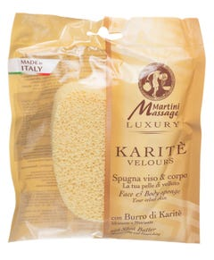 Martini Face & Body Sponge With Shea Butter
