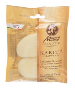 Martini Make-up Remover Pads With Shea Butter 2 pcs