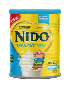 Nido Low Fat Fortified Semi-Skimmed Milk Powder 900 gm