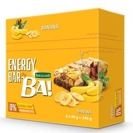 Bakalland Energy Bar with Banana 6*40 gm