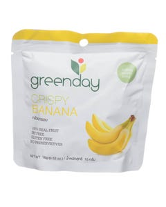 Greenday Crispy Banana 15 gm