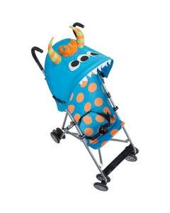 كوسكو عربة أطفال قابلة للطي - وحش أزرق