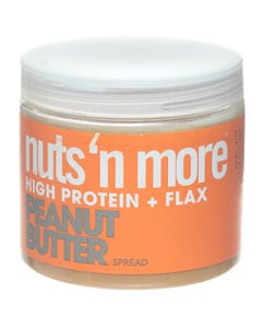 Nuts And More High Protein And Flax Peanut Butter Spread 454 gm