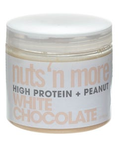 Nuts And More High Protein And Peanut White Chocolate Spread 454 gm