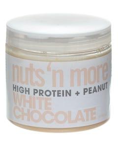 نتس اند مور زبدة الفول السوداني نكهة شوكولاتة بيضاء 454 جرام