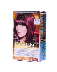 Excellence Cream Deep Red 4.26 Kit