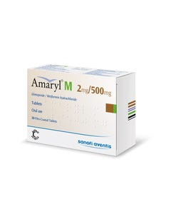 Amaryl M 2Mg/500Mg 30 Tablet