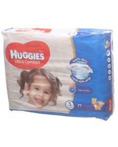 Huggies Size (6) Value Pack 32 Diapers New