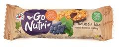Vitalia Go Nutri muesli bar with raisins&cocoa coating 25 gm