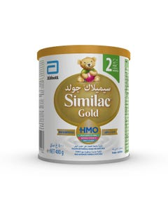 Similac Gold Milk Infant Formula (2) 400 gm
