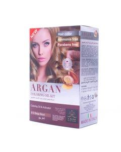 X-Rose Argan Oil Coloring kit Beige Blond 8.12