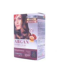 X-Rose Argan Oil Coloring kit Golden Blond 7.3