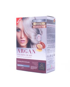 X-Rose Argan Oil Coloring kit Light Silver