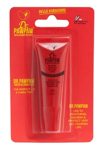 Dr.Pawpaw Tinted Ultimate Red Balm For Lips And Cheeks 10 ml