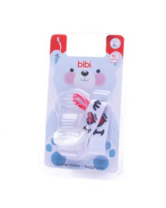 Bibi Soother Holder I Love Mama