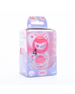 Bibi Soothers Happiness Densil 6-16 Months - 2pcs