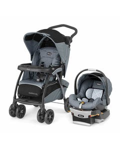 Chicco Cortina Cx Travel System Iron Usa