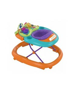 Chicco Baby Walker Walky Talky Orange Wave 6M+ / 12 Kg
