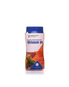 Longevity Adult Gummies Vitamin D3 - 74 pcs