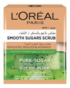 Loreal Sugar Scrub Clearing Blackheads-Kiwi 50 ml