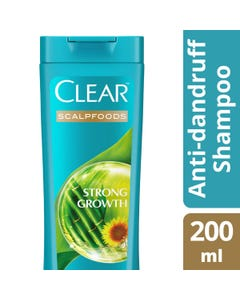 Clear Shampoo Scalp Foods With Bamboo Extract 200 ml