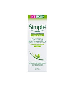 Simple Hydrating Light Moisturiser Cream 125 ml