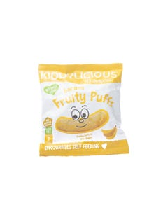 Kiddylicious Banana Fruity Puffs 10 Gm