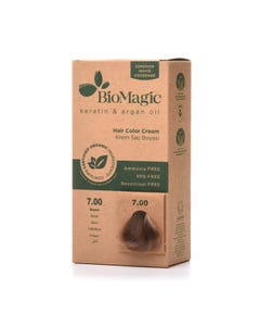 Biomagic Hair Color Cream Kit 7.00 Blonde