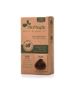 Biomagic Hair Color Cream Kit 6.03 Dark Golden Blonde