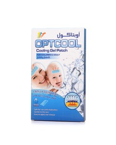 Optcool Cooling Gel Patch - 4 Patchs