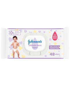 Johnson Baby Wipes Ultimate Clean 48 wipes
