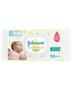 Johnson Baby Wipes Cotton Touch 56 wipes