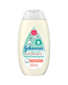 Johnson Lotion Face & Body Cotton Touch 200 ml