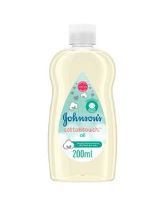 Johnson Cotton Touch Oil 200 ml