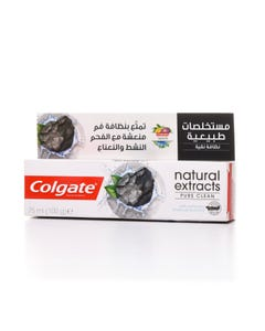 Colgate Toothpaste Natural Activated Charcoal & Mint 75 ml