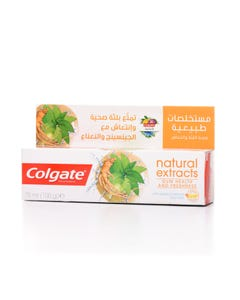 Colgate Toothpaste Natural Ginseng Extract & Mint 75 ml