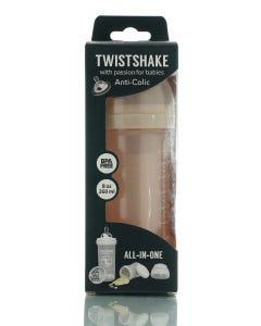 Twistshake Anti-Colic Pearl Gold 260 ml
