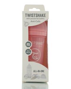 Twistshake Anti-Colic Pastel Pink 260 ml