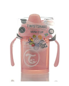 Twistshake Mini Cup Pastel Pink 4+m 230 ml