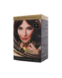 Argan Hair Coloring Oil Kit Light Brown 5.0