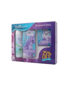 Gillette Venus Breeze Regimen Pack 25% Discount