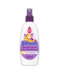 Johnson Strength drops kids conditioner spray 200 Ml