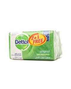 Dettol Soap Original 2+1 Free 165g