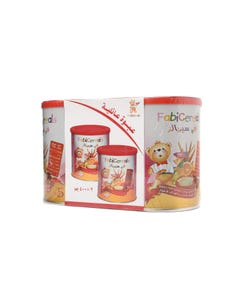 Fabicereals Wheat & Fruits family pack 2x400